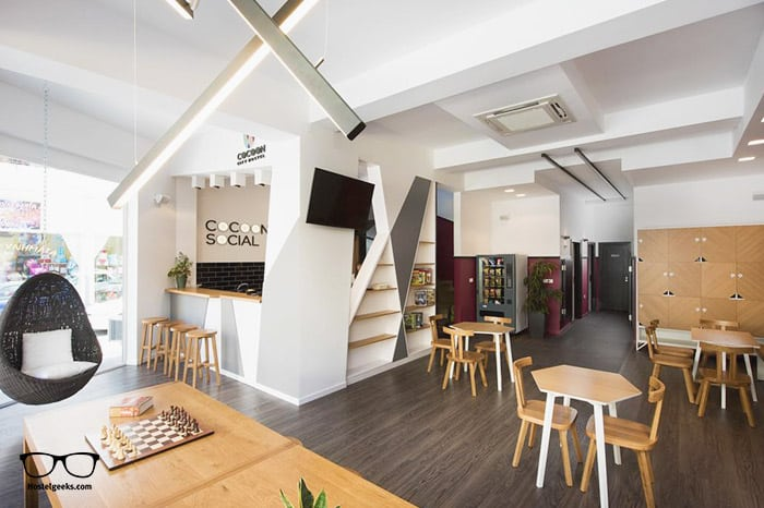 Cocoon City Hostel is one of the best hostels in Greece, Europe
