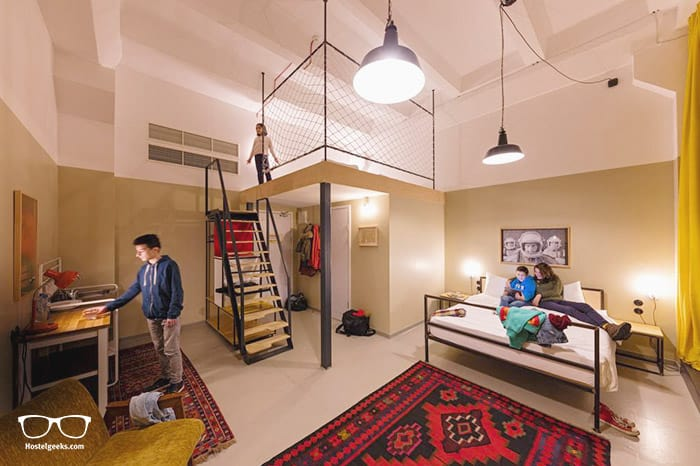 Fabrika Hostel is one of the best hostels in Tbilisi, Georgia
