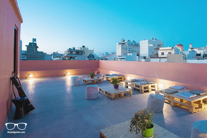 Intra Muros Boutique Hostel is one of the best hostels in Greece, Europe