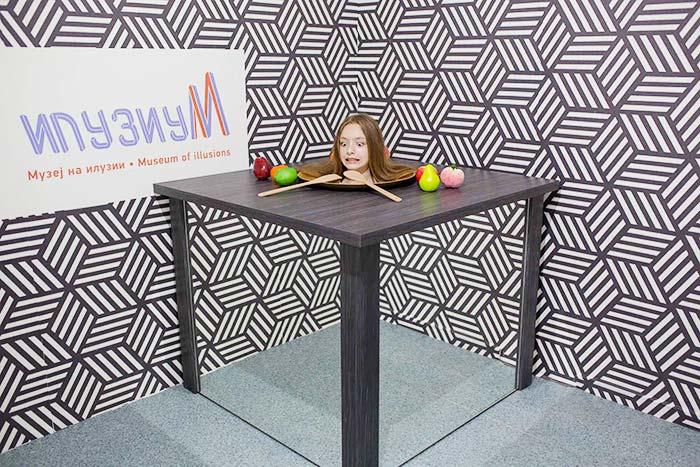 Museum of Illusions in Skopje