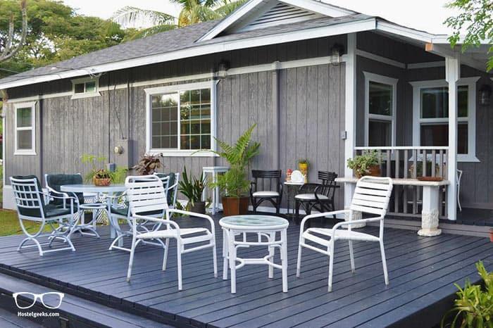The Lahaina Beach House is one of the best hostels iin Hawaii, USA