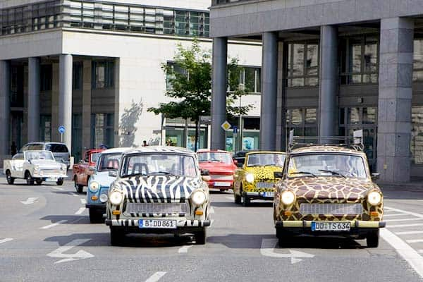 Trabant Safari in Dresden