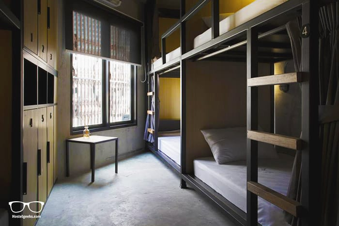 Bed Station Hostel is one of the best hostels in Bangkok, Thailand
