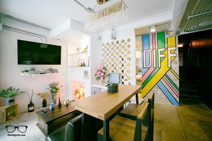 Diff Hostel is one of the best hostels in Bangkok, Thailand