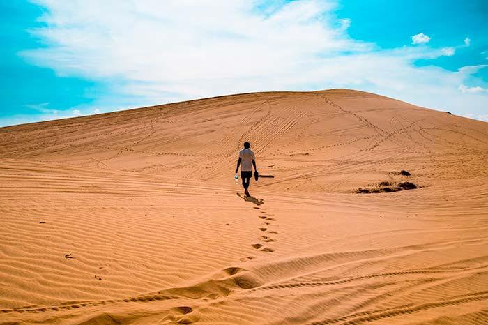 Dunes in Mui Ne, Vietnam