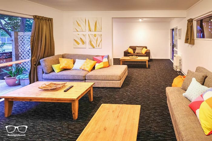 Haka Lodge Taupo is one of the best hostels in New Zealand