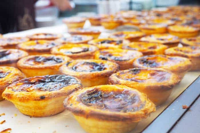 Bring out your sweet tooth and have a taste of Lisbon's delicacies, custard tarts