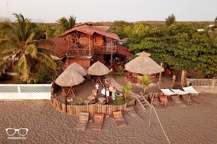Mano o Mano Eco Hostal is one of the best hostels in Nicaragua, Central America