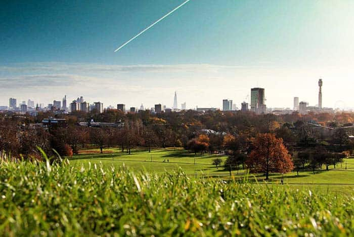 Check out the views of London at Primrose Hill