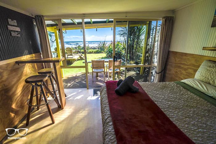 Punakaiki Beach Hostel is one of the best hostels in New Zealand, Oceania