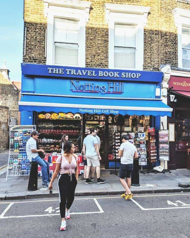 See the bookstore in the romantic film Notting Hill