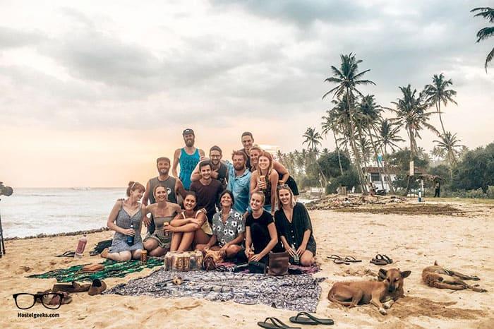 The Spindrift Hostel in Weligama, Sri Lanka - 5 Star Hostel