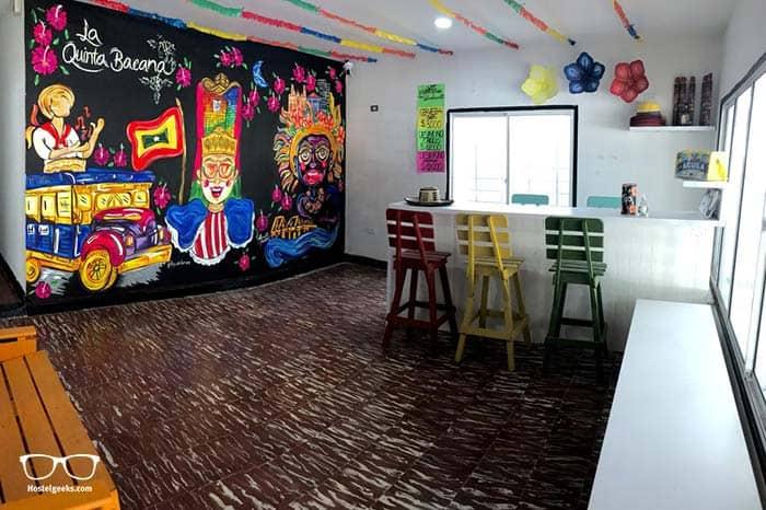 La Quinta Bacana Hostel in Barranquilla, Colombia.