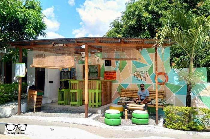 The Green Nomad Hostel In Santafe de Antioquia, Medellin, Colombia.