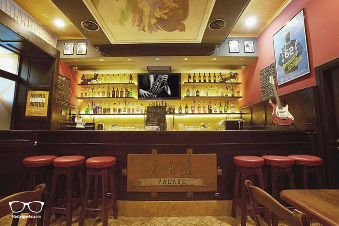 Alessandro Palace Hostel & Bar is one of the best party hostels in Rome, Italy