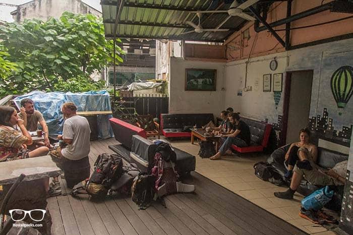 Best hostel for backpackers in Kuala Lumpur.