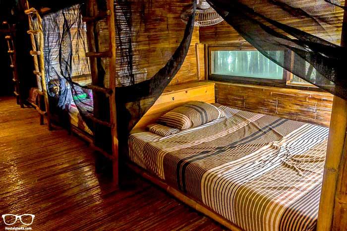 Dorm at Bambu gran palas hostel in Tulum, Mexico