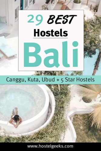 A complete guide to the absolute BEST hostels in Bali, Indonesia