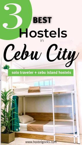 The complete guide and overview to the best hostels in Cebu City, Philippines for solo travellers and couples