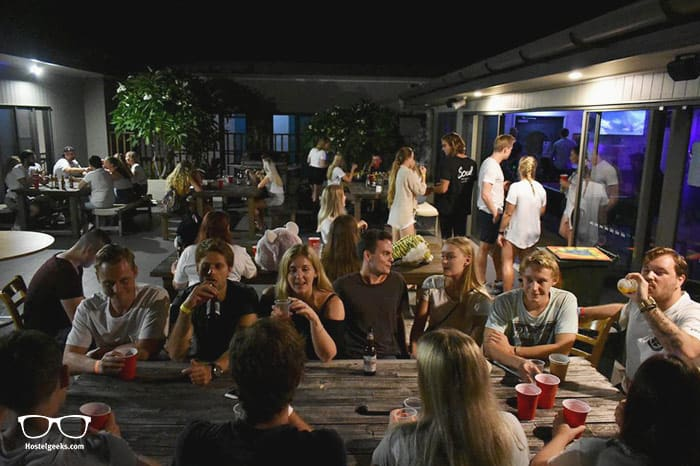 Byron Bay Beach Hostel is one of the best party hostels in Byron Bay, Australia
