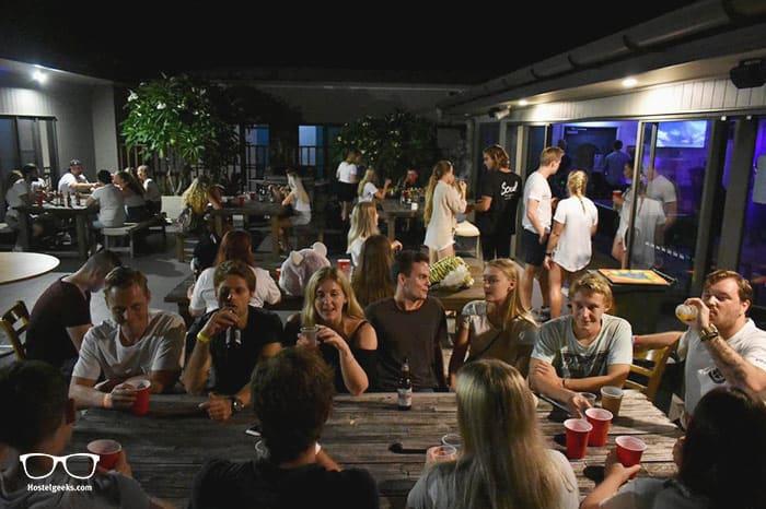 Byron Bay Beach Hostel is one of the best party hostels in Byron Bay, Australia