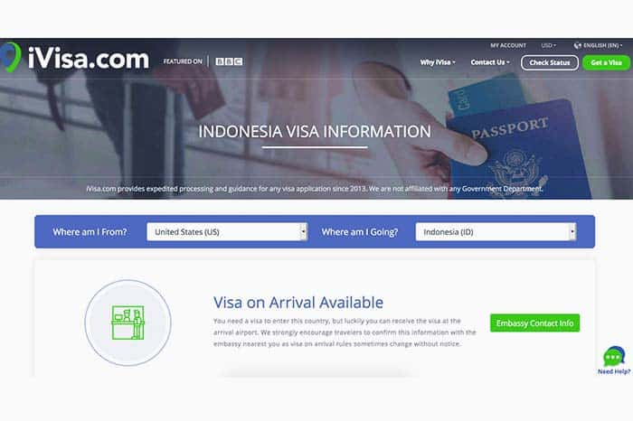 Check your Visa Requirements with 1 click!