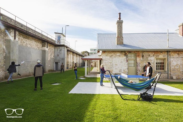Fremantle Prison YHA is one of the best hostels in Perth, Australia