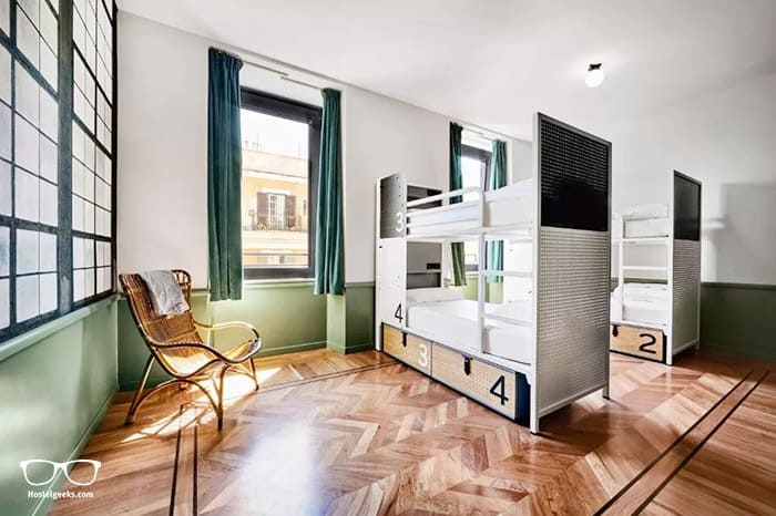 Generator Rome, one of the top Generator Hostels in Europe