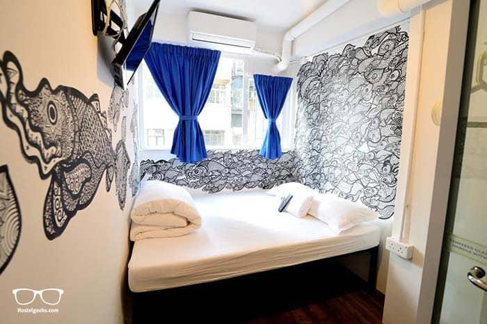Hop Inn Hostel in Hong Kong, best for solo travellers.