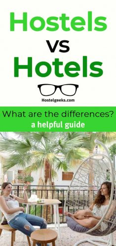 A guide focusing on Hostels vs Hotels
