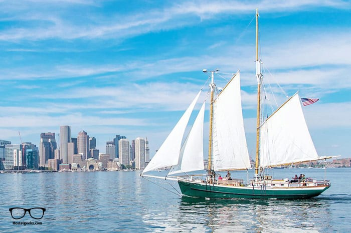 Liberty Fleet of Tall Ships is one of the best hostels in Boston, USA