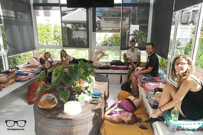 Lullaby Hostel in Chiang Mai, best for solo travellers.