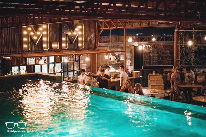 Mad Monkey is one of the best party hostels in Cebu City, Philippines