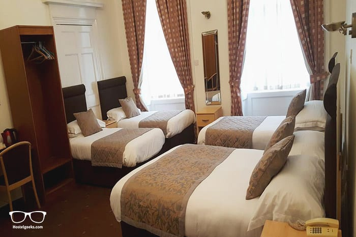 McLays Guest House is one of the best hostels in Glasgow for couples