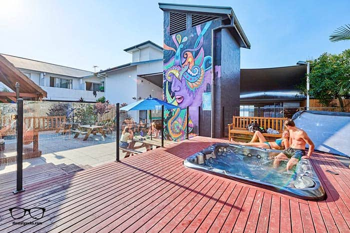 Nomads Byron Bay is one of the best hostels for backpackers in Byron Bay, Australia