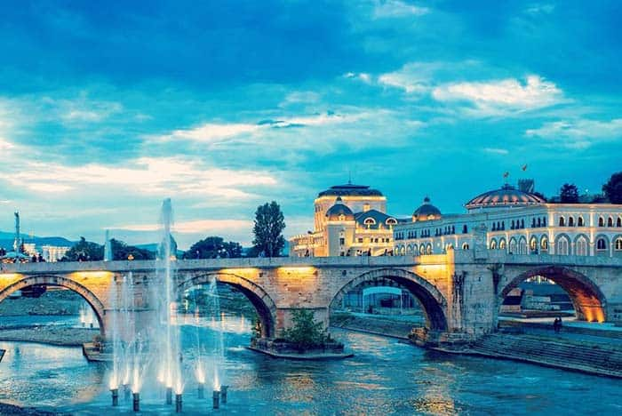 Skopje is also called the Las Vegas of the Balkans