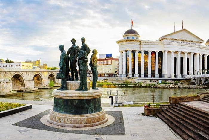 See the wonderful city of Skopje, Macedonia