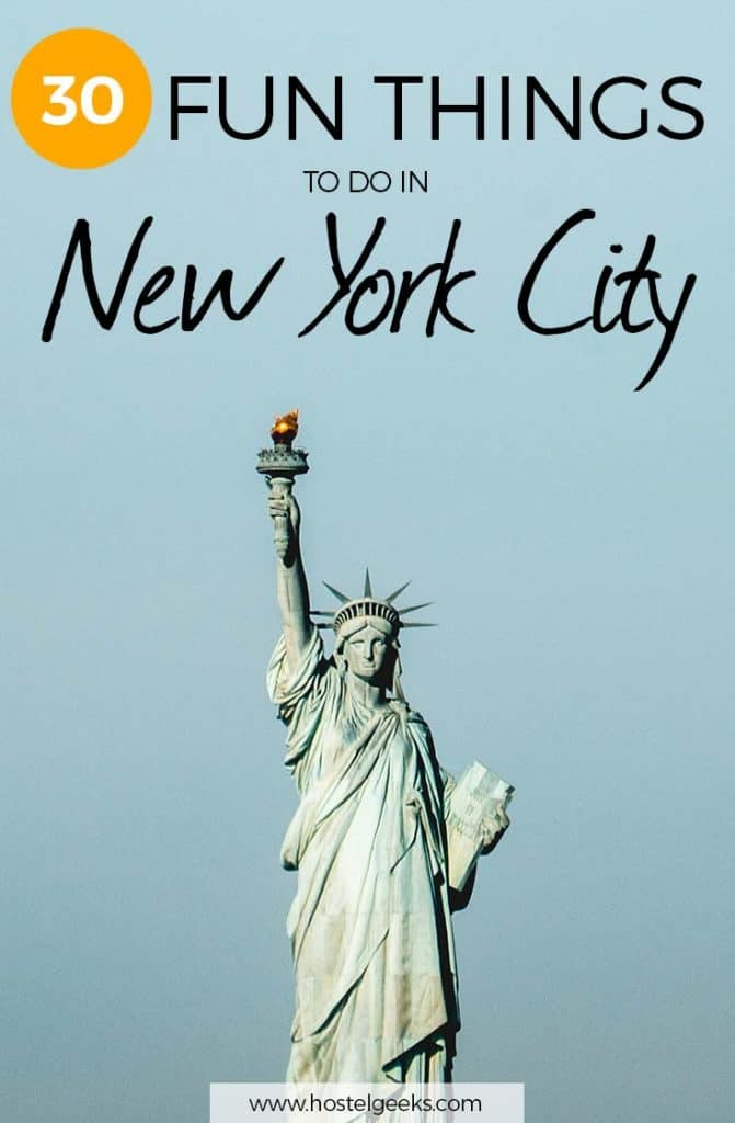 30 Fun Things to Do In New York City