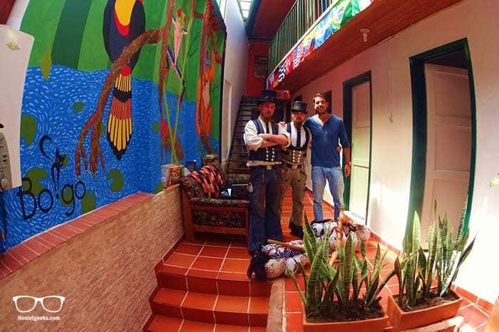BoGo Hostel in Bogota.