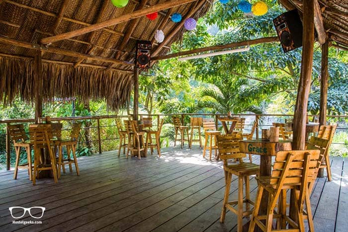 The best hostel in Tayrona, Colombia.