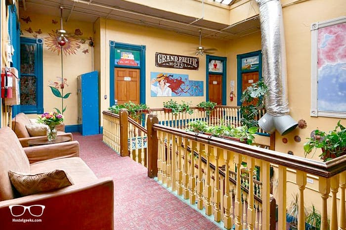 USA Hostels San Diego Downtown is one of the best hostels in San Diego, USA
