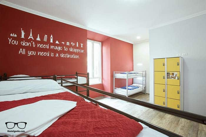 Best hostel in Rome, Italy.