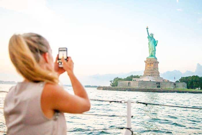 See the Statue of Liberty on a boat tour in New York City