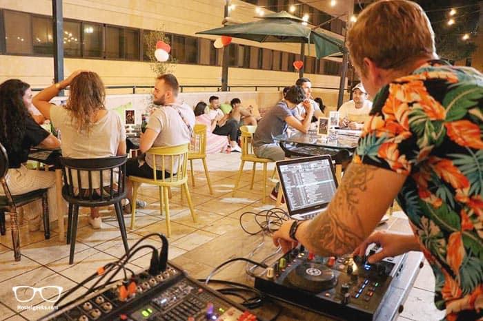 Cinema Hostel is one of the best party hostels in Jerusalem, Israel