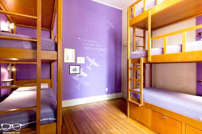 Awesome dorm rooms at Discovery Hostel, Rio de Janeiro