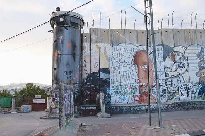Donald Trump Graffiti in Bethlehem