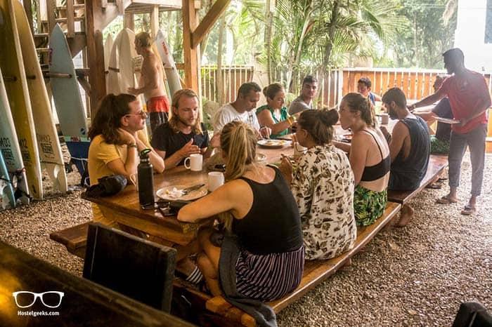 Dos Monos Hostel in Santa Teresa, Costa Rica.