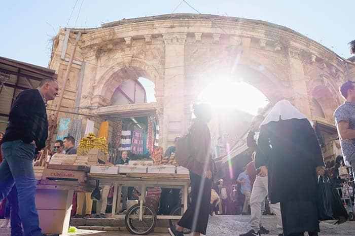 Free walking tour in Jerusalem