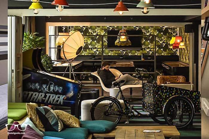Best party hostel in Copenhagen, generator hostel.