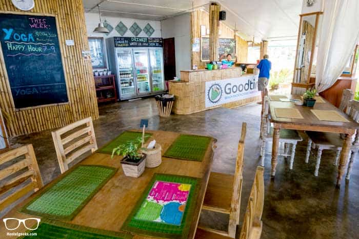 Restaurant in Goodtaime Beach Hostel